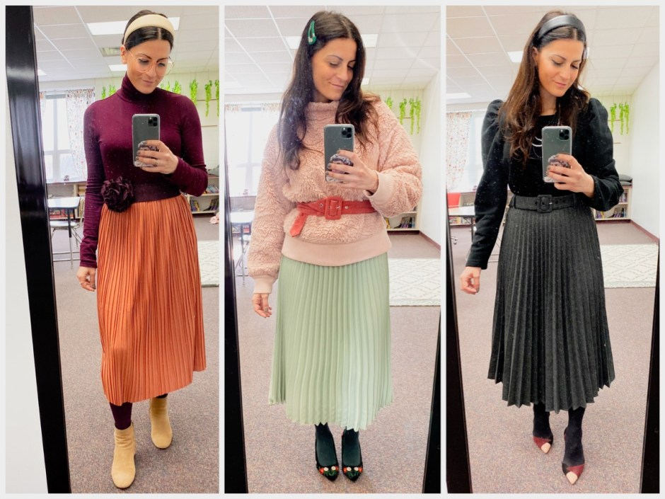 work wear twenty-four pleat week