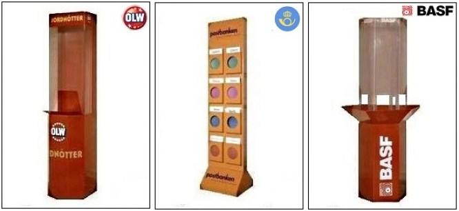 Vi tillverkar all slags Butiksinredning såsom Produktställ - displayställ och kampanjställ