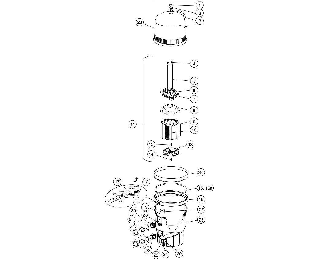 Pentair Filter Parts