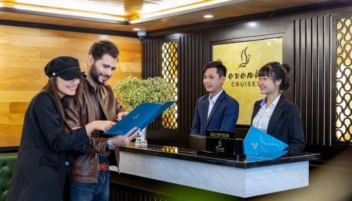 Halong Serenity Cruises Reception