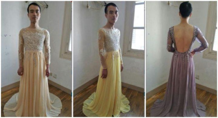 Penjual Online Viral Karena Menunjukkan 'Foto Nyata' dari Gaunnya