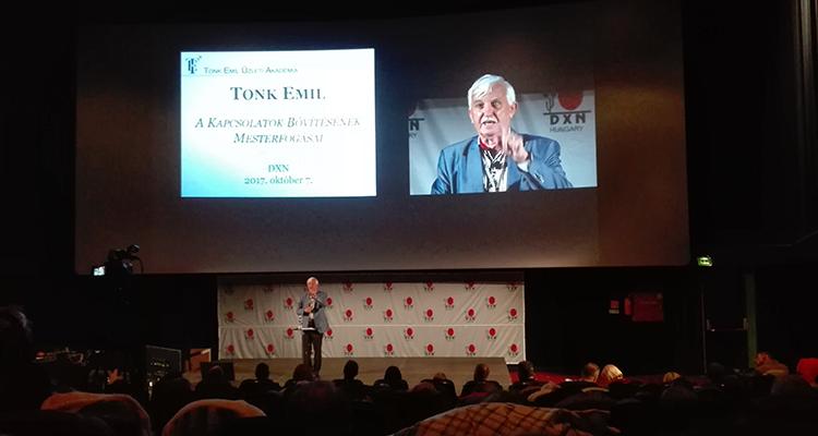 Tonk Emil előadása
