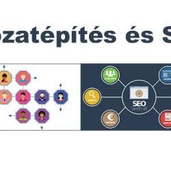 Hálózatéspítés és SEO