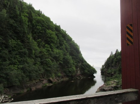 view from Point Wolfe bridge
