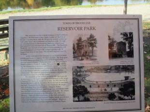 Reservoir history