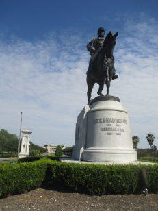 Lt. Beauregard, outside Park