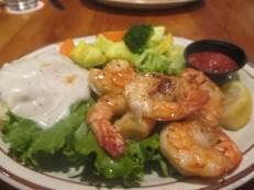 gravy & shrimp