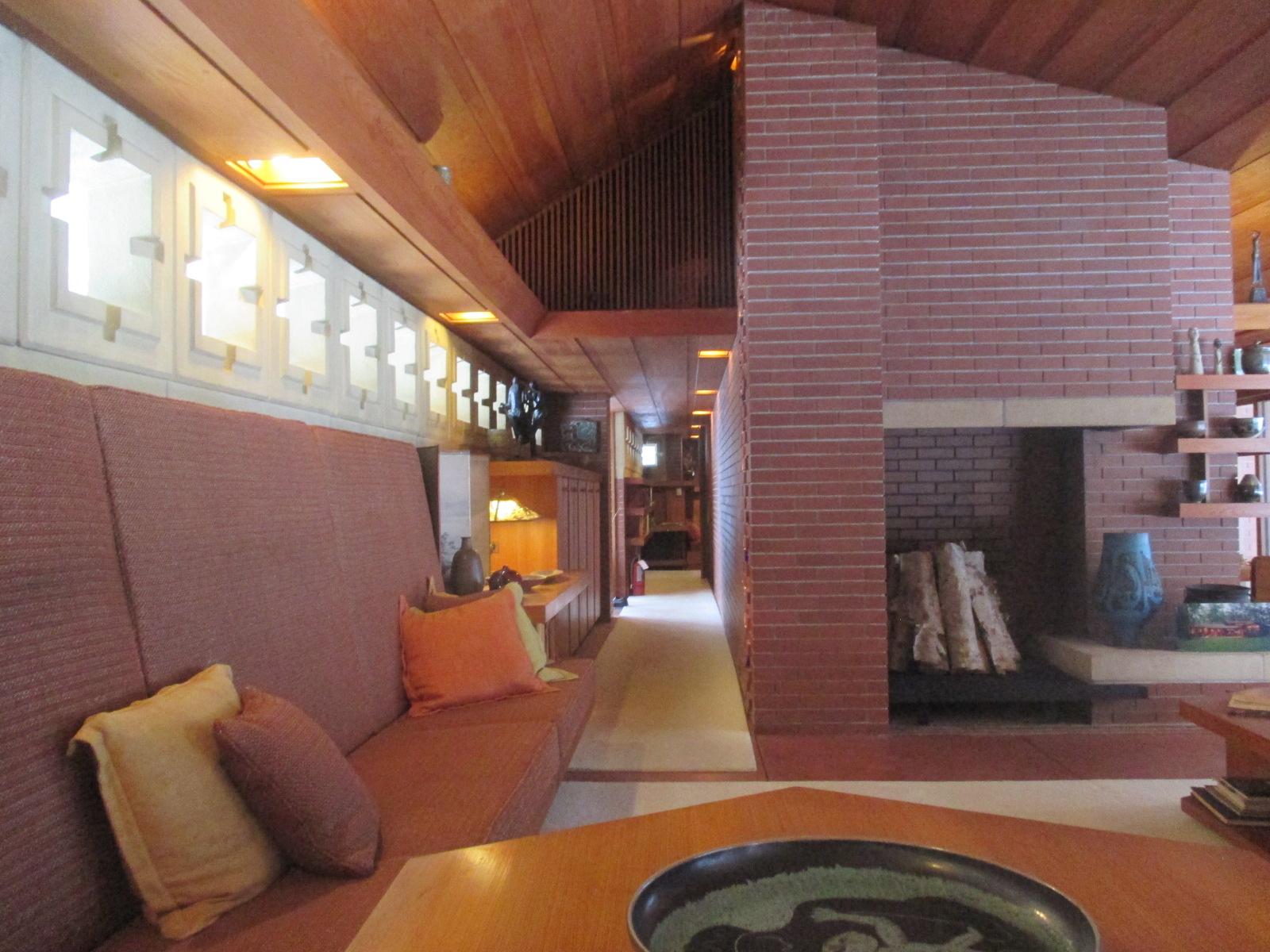 Frank Lloyd Wrights Zimmerman House Manchester NH 121816  52 SundaysHalpern Blog