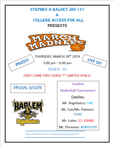 March Madness 2019 Flyer