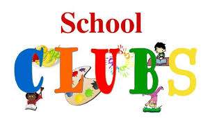 The words School Clubs