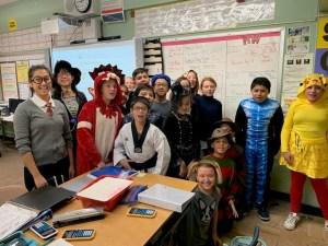 Halloween Ms. Lai Class