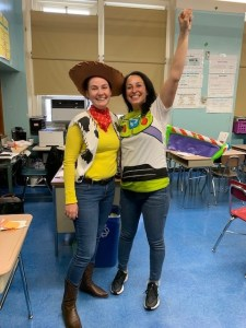 Halloween Buzz and Woody 2
