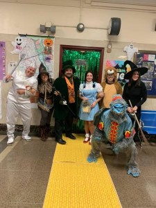 Halloween - Characters from the Wizard of Oz