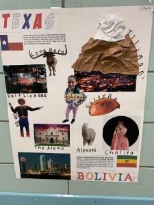 Cultural Posters - Texas & Bolivia