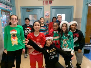 Silly Holiday Sweater Day