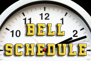 "Picture Text ""Bell Schedule"""