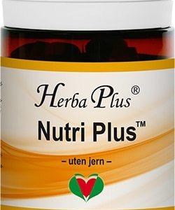 nutri plus kosttillskott burk utan järn herba plus