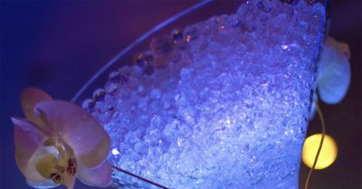 Stadium Night Photo Glass carousel