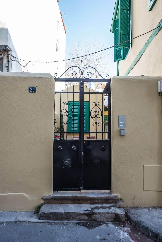 St Paul Villa front Gate