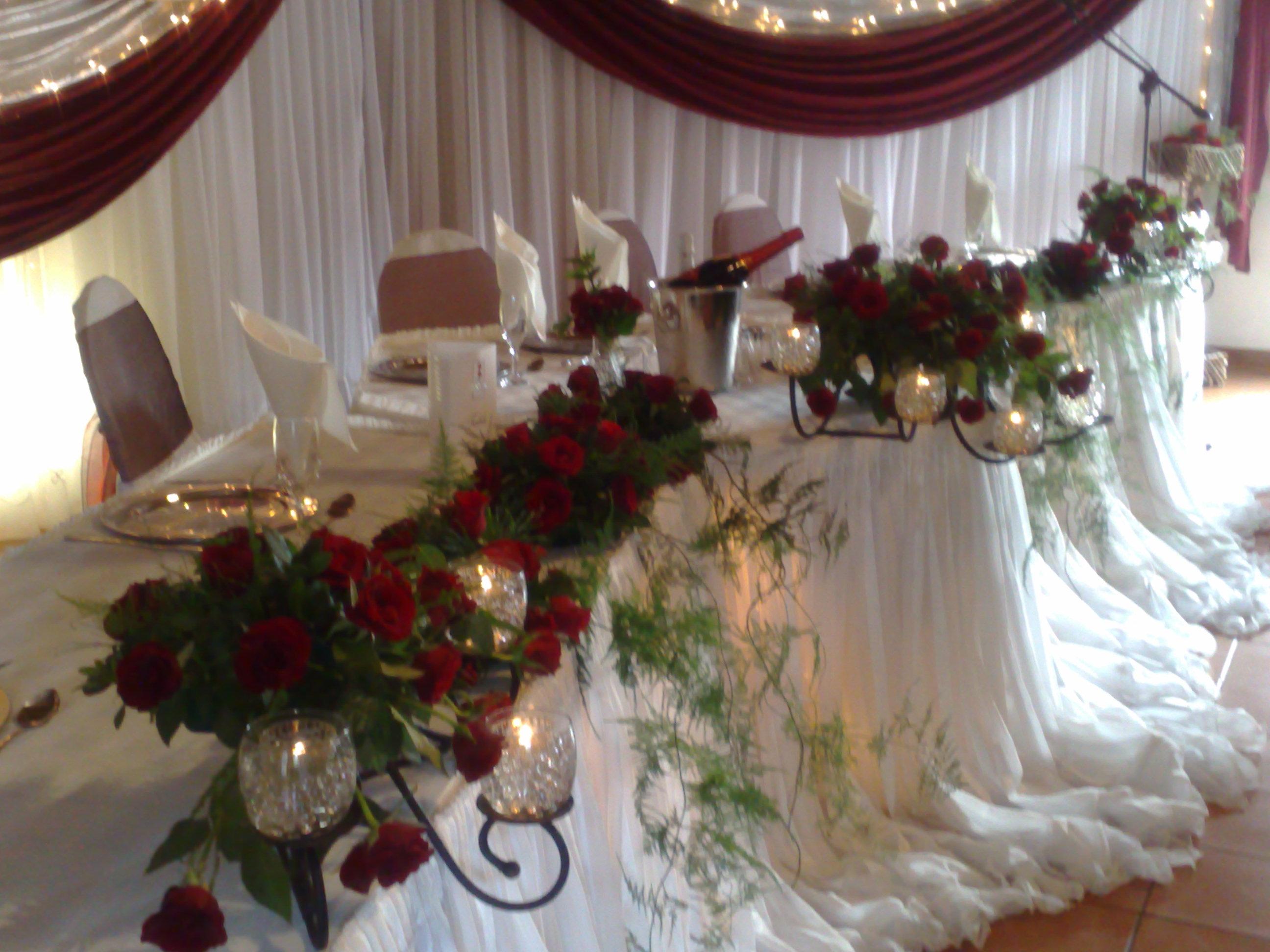 Main Table Decor Halvorsenweddings