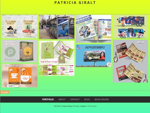 Portfolio photos of Patricia Giralt