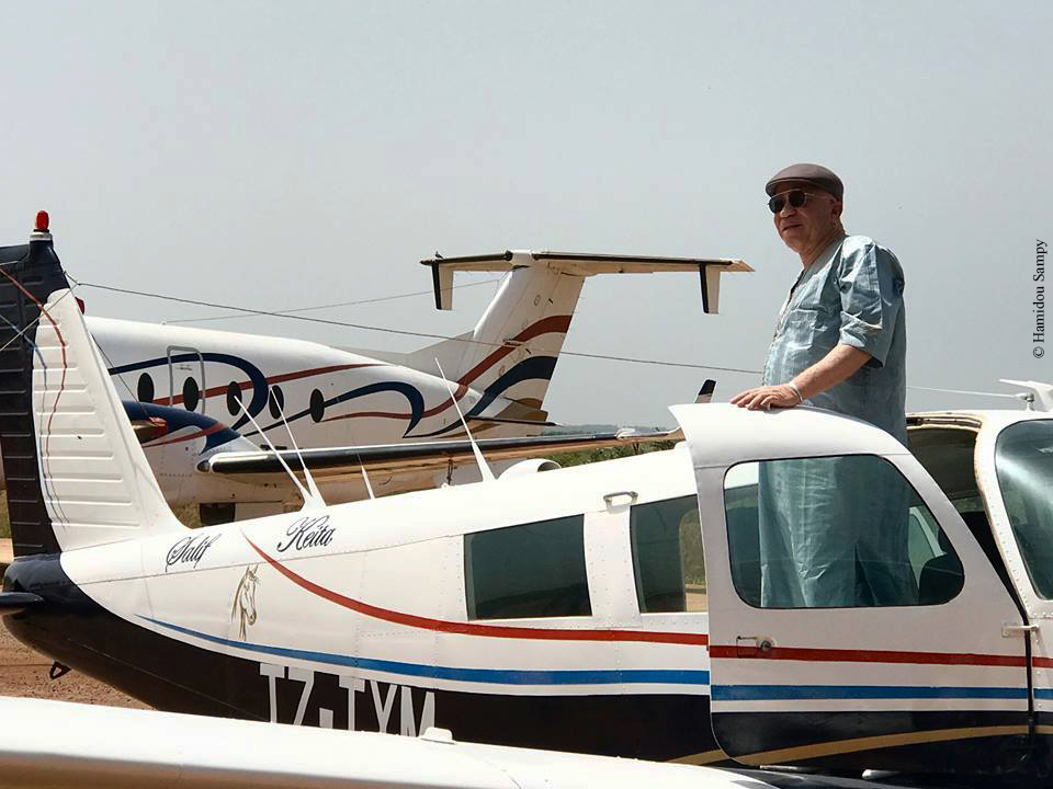 Salif keita avion privé