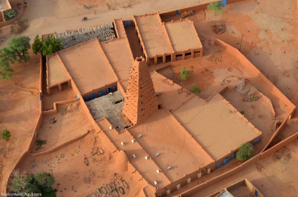 la mosquée d'agadez