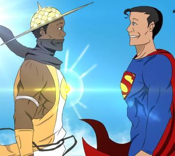 Les heros du Sahel Shamsou Vs Superman