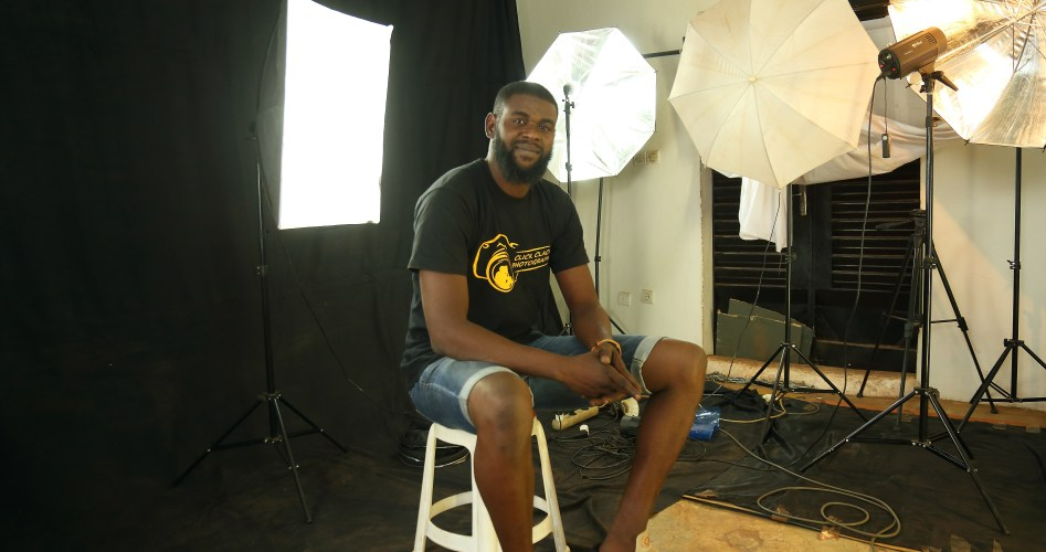 Tidiane Sidibé photographe rap Mali Click Clack