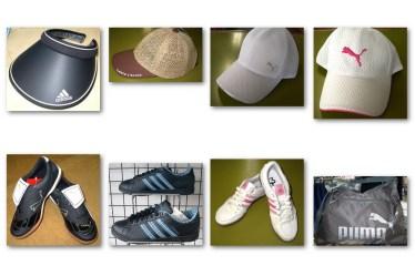 サカシタスポーツ スポーツ用のキャップやシューズ、バッグもあります!