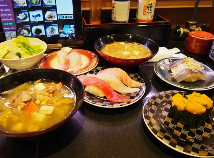 回し寿司 活 横浜スカイビル店