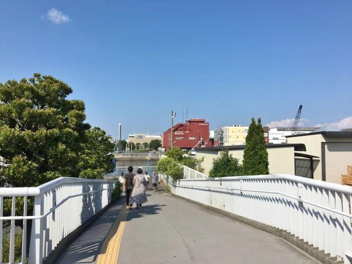 鳥浜歩道橋