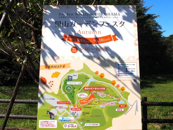 秋の里山ガーデンフェスタ2020