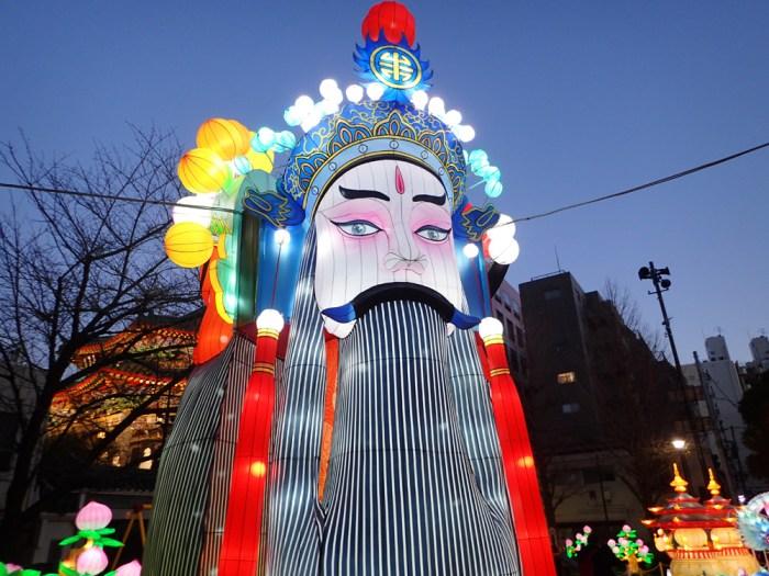 横浜中華街の春節