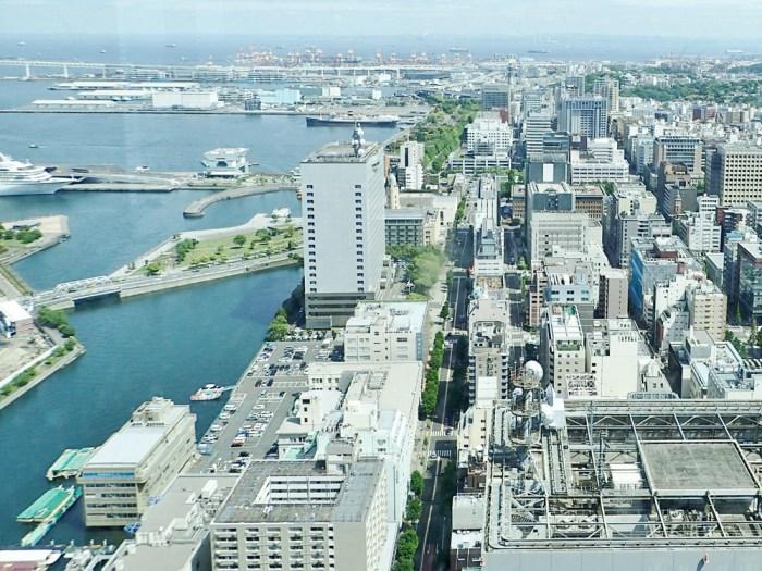 オークウッドスイーツ横浜46階展望台