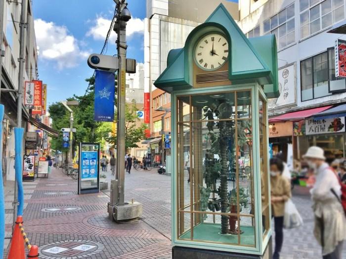 伊勢佐木町のからくり人形時計