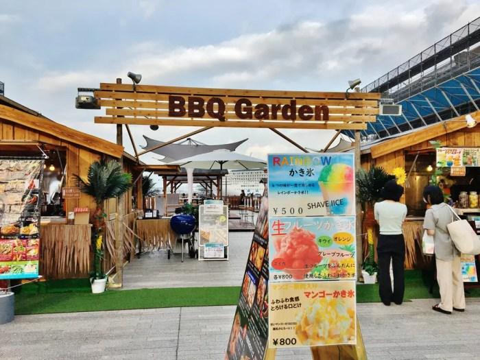 横浜赤レンガ倉庫のBBQイベント