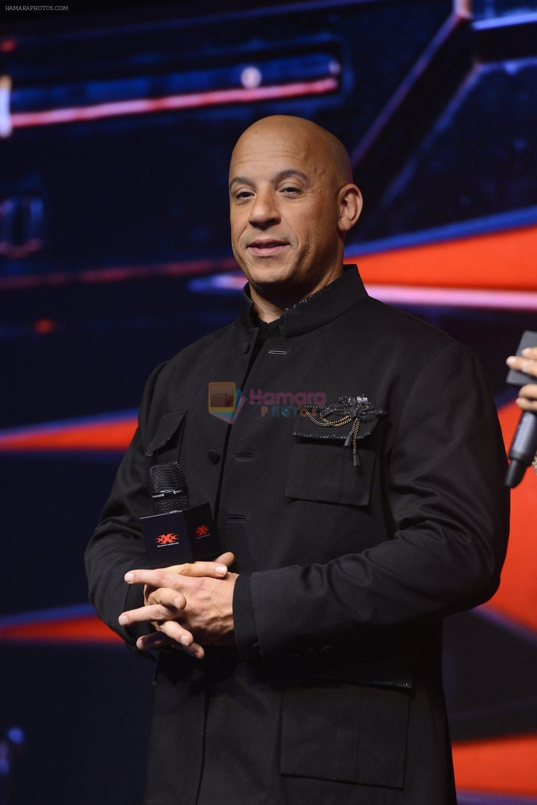 Vin Diesel at XXX Press Meet on 12th Jan 2017 / Vin Diesel - Bollywood Photos