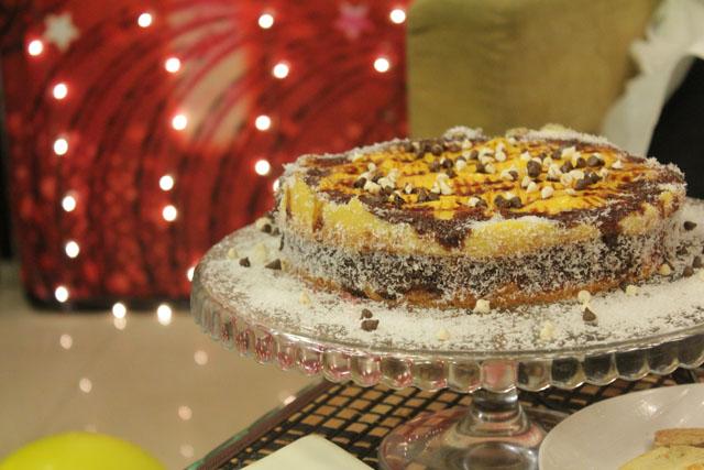 Pineapple Cake Chef Zakir