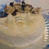 עוגת וניל וקרם מרשמלו