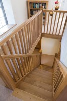 Oak Spindle Staircase Renovations   Hambledon Staircases