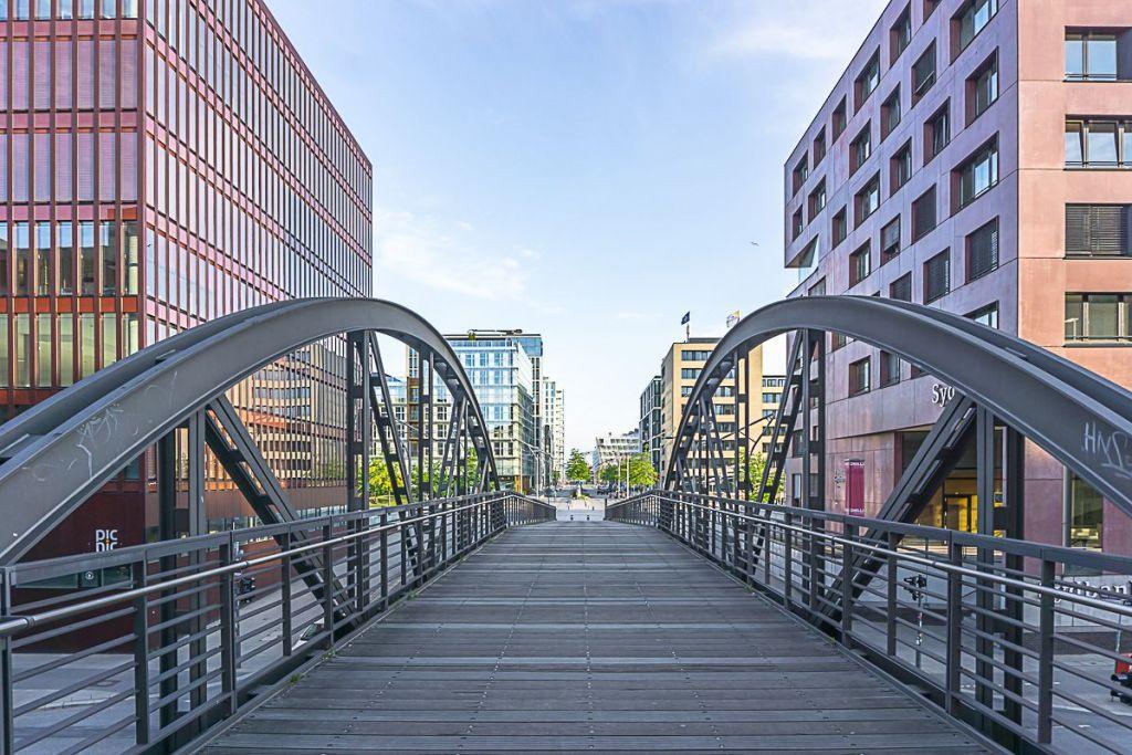 Germany - Hamburg - HafenCity - Bridge