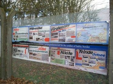 Kühlungsborn - Ausstellungszaun über die Grenze