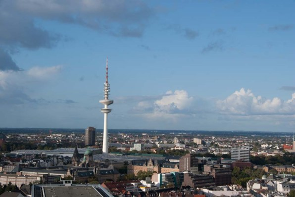 View from St.Michaelis Chruch Hamburg