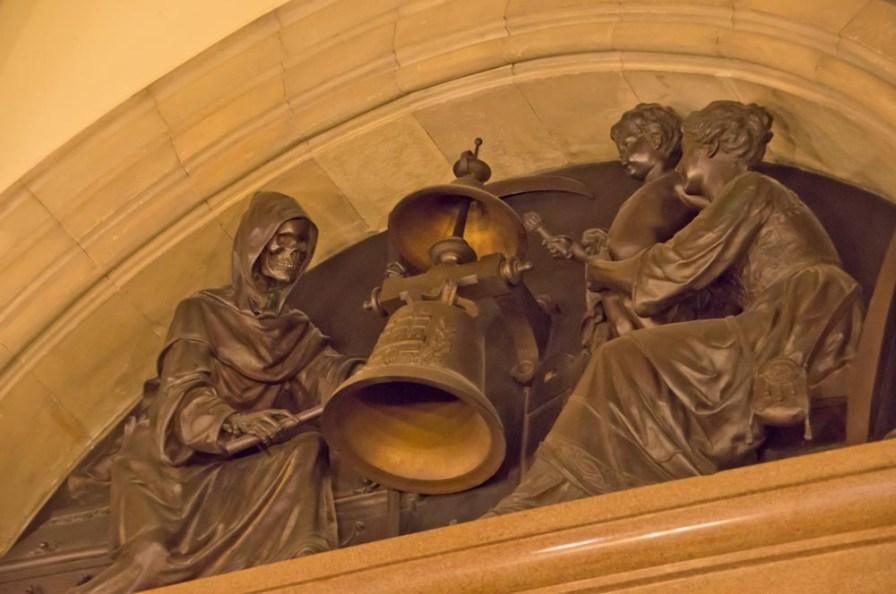Hamburger Rathaus - Foyer