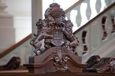 Hamburger Wappen im Michel
