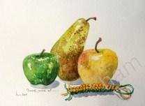Pommes poires et scoubidou