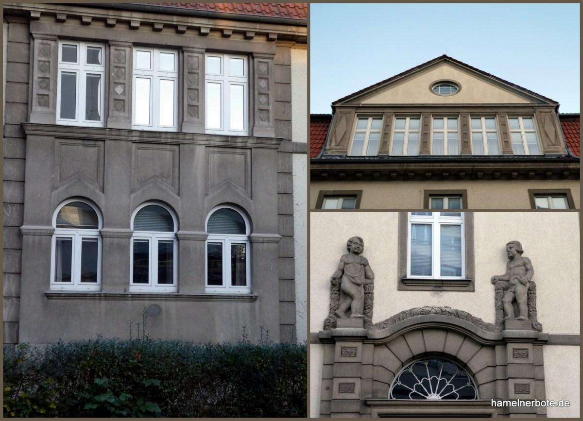 Fassadenrätsel: Wer weiß wo in HM?