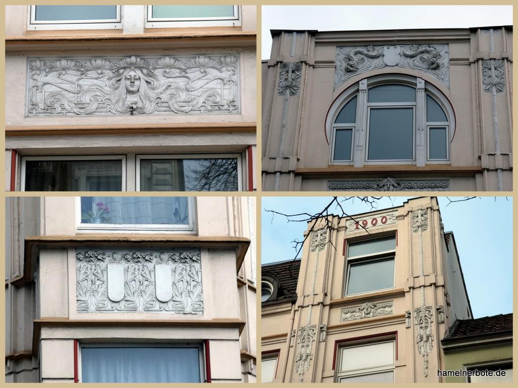 Fassadenrätsel Hameln