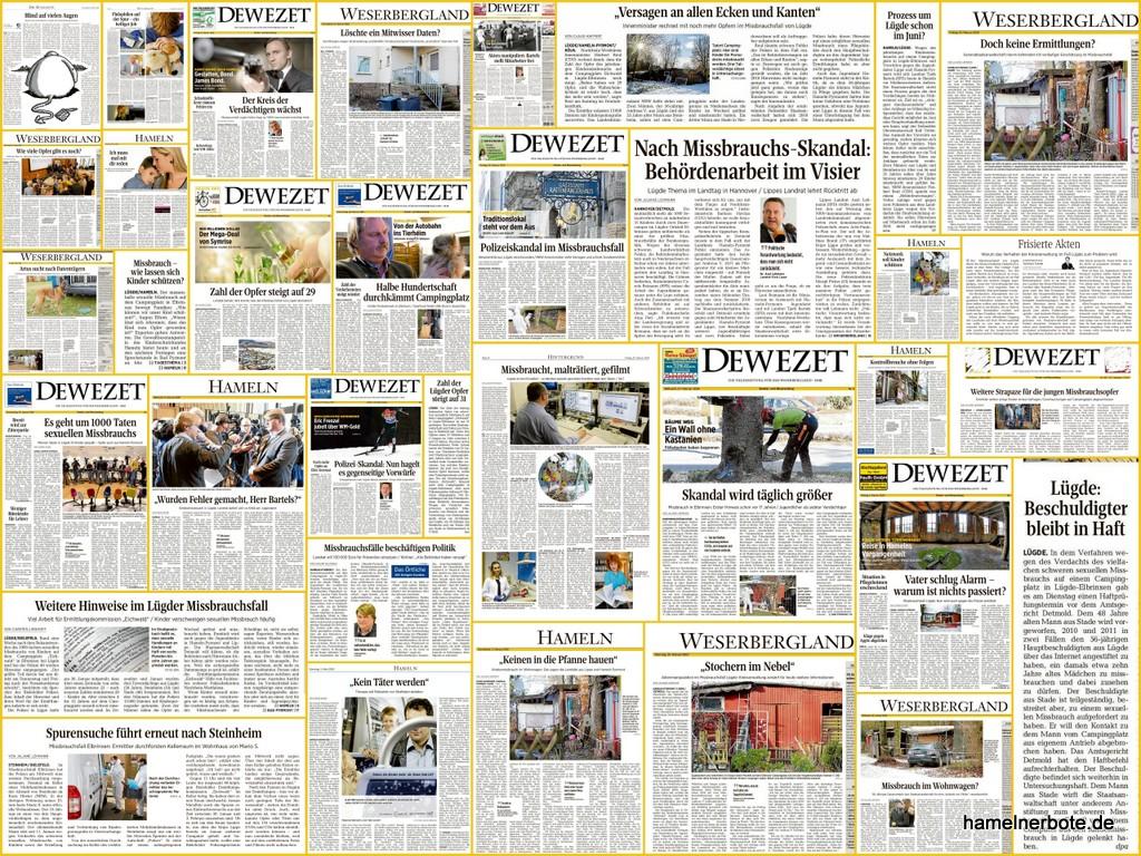 """DEWEZET – Zeitungskritik Nr. 2 zum """"Fall Lügde"""""""